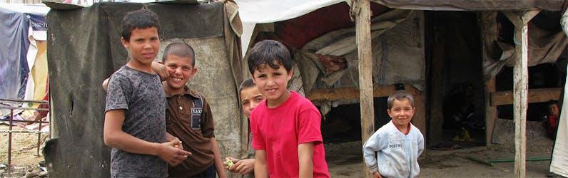 Seeking the kingdom of God means helping innocent children