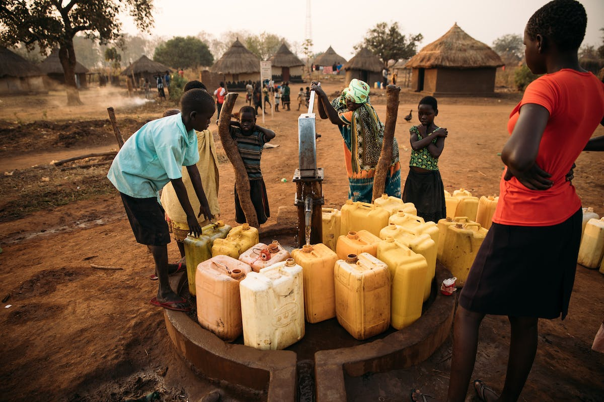 In Uganda, clean water brings a community together.