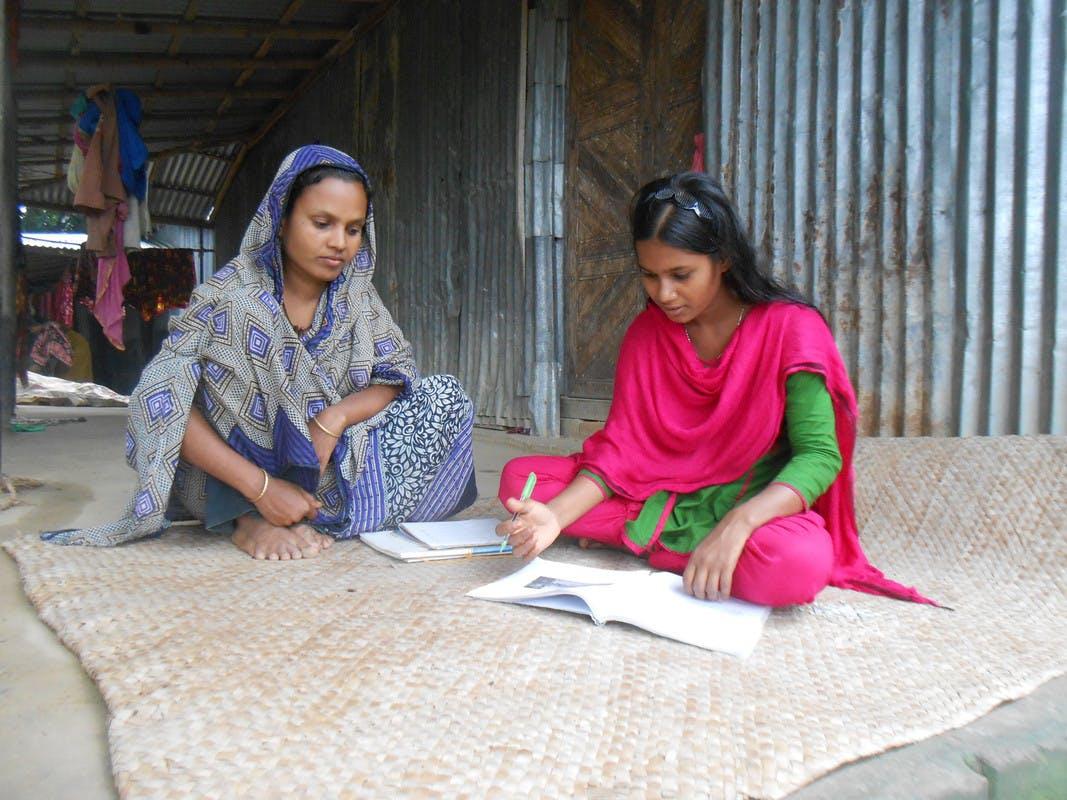 Education brings transformation to Sumi Khatun
