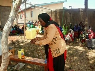 Balla Halkano from Marsabit, Kenya, finds transformation in solving her own problems