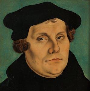 Martin Luther (1529) by Lucas Cranach the Elder