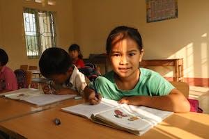 Female student in Vietnam