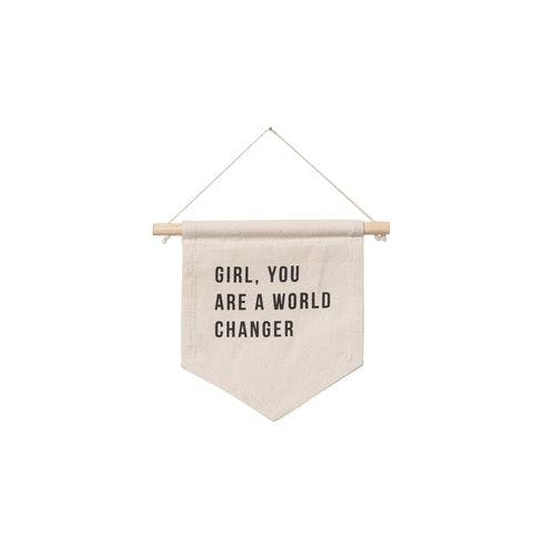 World Changer Wall Hanging by Imani Collective
