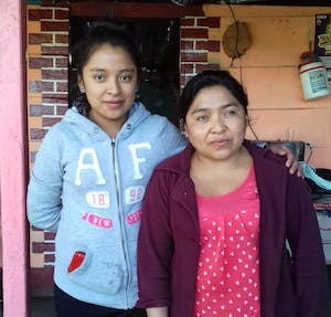 Evelyn and her mother Tomasa are FH participants in Guatemala