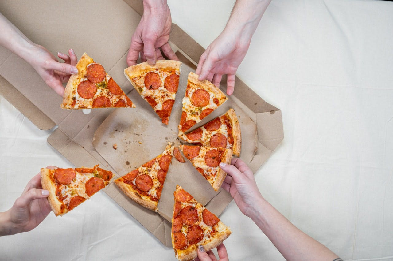 Change the world through a fundraiser that ends with a pizza party!