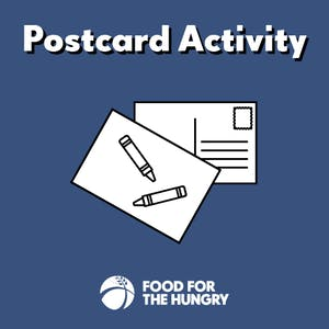 Send a Postcard to Your Sponsored Child - Activities for Child Sponsors