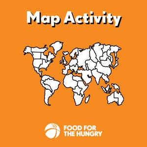 Daw a Map to Send to Your Sponsored Child - Activities for Child Sponsors