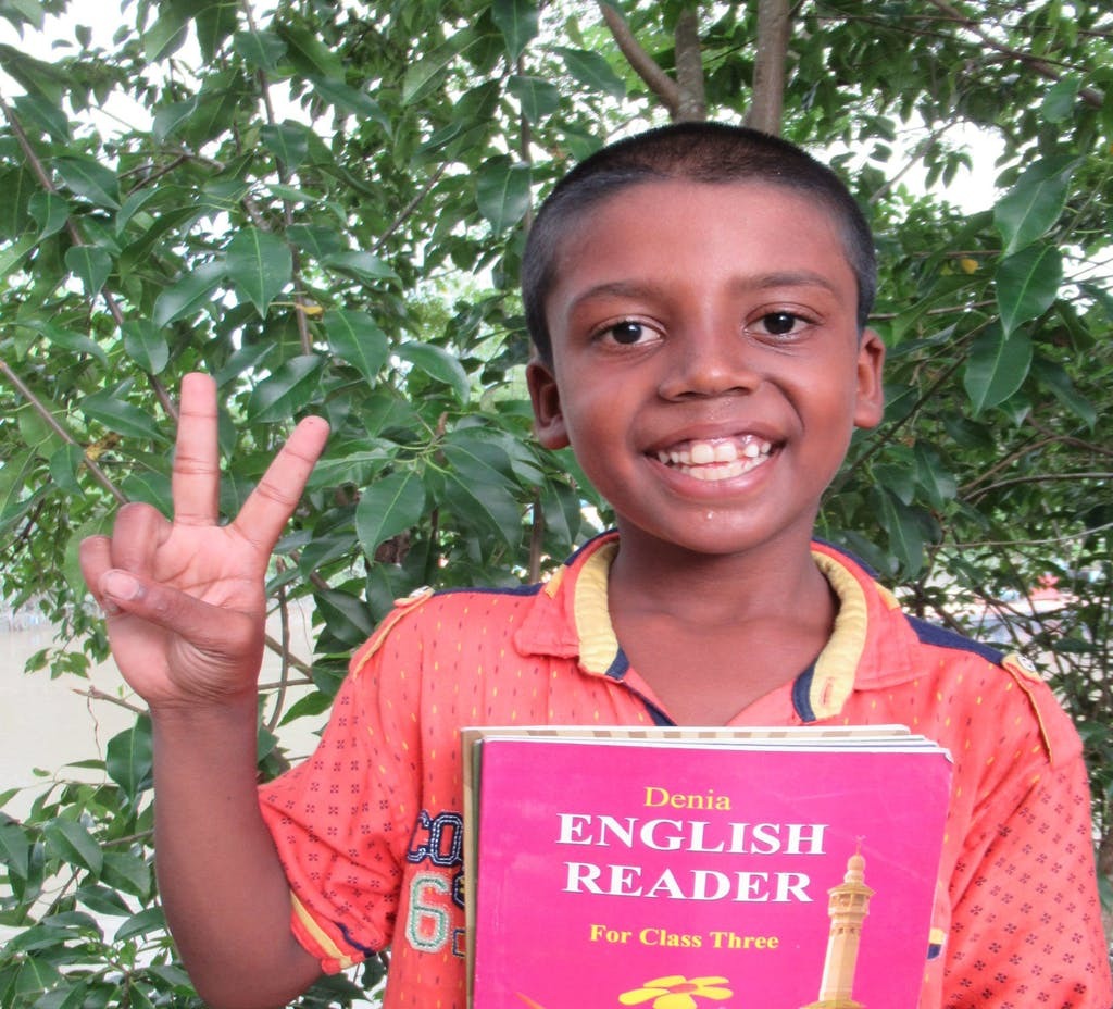 Mustakin, a sponsor child from Bangladesh