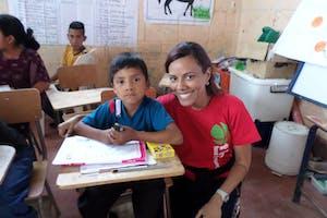 Raquel Muñoz in Guatemala