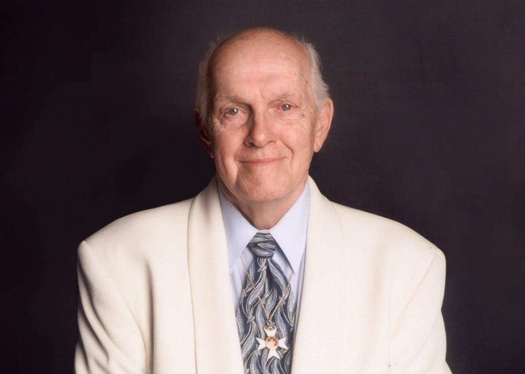 Dr Larry Ward portrait