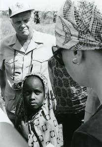 Dr. Larry Ward visiting Africa